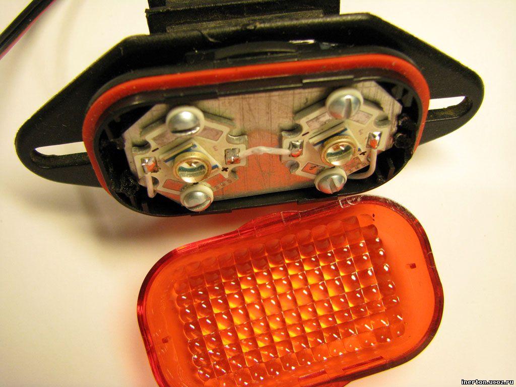 Светодиодные фонари своими руками для велосипеда